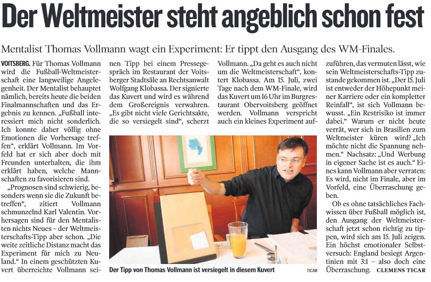 Kleine Zeitung 11 06 14